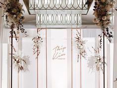 31 Ideas For Wedding Church Flowers Entrance Ceremony Backdrop Art Deco Wedding, Wedding Stage, Wedding Events, Wedding Church, Weddings, Wedding Receptions, Wedding Backdrop Design, Ceremony Backdrop, Backdrop Decorations