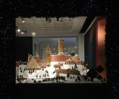 Selfridges Destination Christmas window display, a wish-list with the favourite things. Christmas Windows, Christmas Window Display, Christmas Decorations, Christmas Displays, Christmas Destinations, Uk Retail, Best Windows, Store Fronts, All Things Christmas