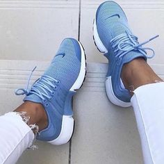 Nike Air Presto Woman Running Sneakers Sport Shoes on Wanelo Cute Shoes, Me Too Shoes, Souliers Nike, Dream Shoes, Casual Shoes, Shoes Style, Running Shoes, Running Sneakers, Baskets
