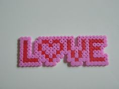Love perler bead by favicon