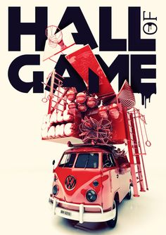 HALL OF GAME by stefan künzler, via Behance