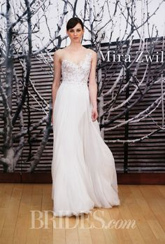 Brides: Leaf Embellishment Wedding Dress Trend