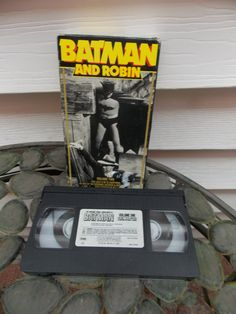 Vintage Batman and Robin VHS Video From by PfantasticPfindsToo, $19.99