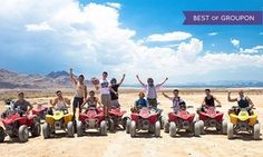 Groupon - Two- or Four-Hour Nellis Dunes ATV Tour for One from Las Vegas ATV Tours (Up to 64% Off)  in Las Vegas. Groupon deal price: $100
