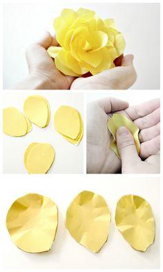 DIY: Paper Roses