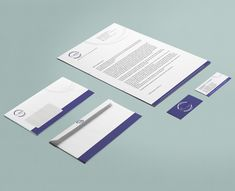 Corporate Design with a modern Logo and office equipment.