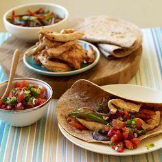 Viva Mexico! Deze Fajitas met kip zijn super simpel om te maken en hebben maar 6 ProPoints waarden! #SnelKlaar #WWrecept #WeightWatchers