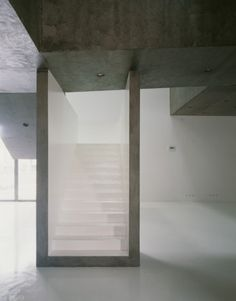 Stairs at Casa dos Cubos / EMBAIXADA Arquitectura
