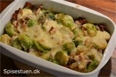Danish Food, Lchf, Cheddar, Sprouts, Vegetables, Danish Recipes, Grill, 4 Life, Cheddar Cheese
