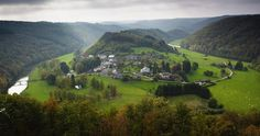 Ardennes, Belgium, Valley of the Semois - Visit Belgium's countryside, look into farm stays and small country inns