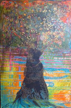 Tree of life, levensboom - painting Gea Boon - Picasa Webalbums