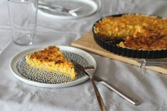 Rezept | Möhren-Ziegenkäse-Quiche - SMAG Gouda, Grill Pan, Grilling, Pie, Desserts, Carrots, Goat Cheese Quiche, Bakken, Food Food