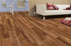 August Offer - Hickory Laminate 10mm thick, 116mm wide and 1380mm long. High Gloss Finish. Price: £15 + vat per sqm