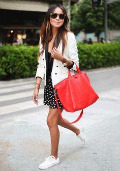 Trend alert: witte Converse sneakers - Mode - Schoenen - Style Today