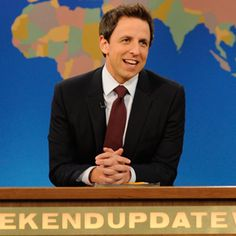 24. Seth Meyers (@Rolling Stone's 50 Funniest People Now)