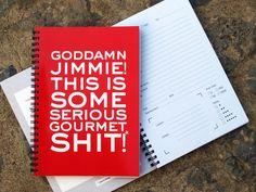 Jimmie Delicious - Restaurant Planer von heavenandpaperDesign
