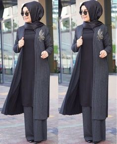 ❤❤yine mi kalite yine mi… - pionero de la cosmética, alimentación, moda y confección Islamic Fashion, Muslim Fashion, Modest Fashion, Fashion Dresses, Casual Hijab Outfit, Hijab Chic, Hijab Dress, Modest Dresses, Modest Outfits