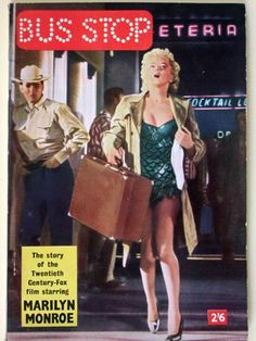 Monroe wore the green costume in the promotional poster for Bus Stop