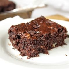 Gluten free and ridiculously moist. Pecan Maple Zucchini Brownies are a surprisingly healthy. But only you and I will know!
