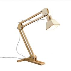 Wooden Desk Lamp No.3 - love it
