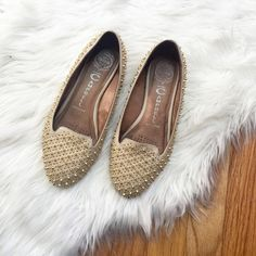 Jeffrey Cambell Studded Shoes Great Condition | No Trades Jeffrey Campbell Shoes Flats & Loafers