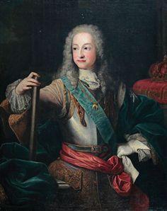 Luis I, Rey de España. 1724