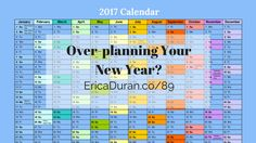 [Ep 89] Over-planning Your New Year? with Erica Duran