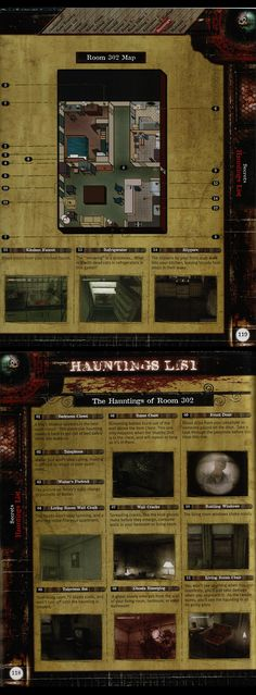 Silent Hill The Room - List of Hauntings. Silent Hill, Gaming, Map, Room, Bedroom, Videogames, Location Map, Rooms, Game