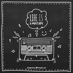 Musikkassetten...