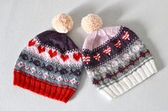 pattern by tiennie, hats by rililie's