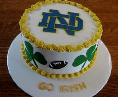 Notre Dame Kev would LOVE me if i made this for his birthday!!