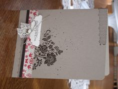 @Shelli Gardner Stampin' Up!  Love the color combo!