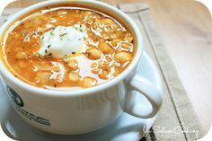 Red Lentil, Chickpea, & Tomato Soup