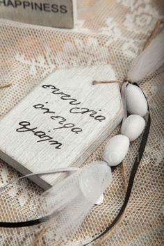 Μπομπονιέρα γάμου ξύλινο σπιτάκι με ευχές