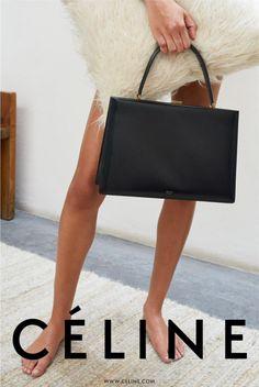 Céline Fall 2017 Ad Campaign by Juergen Teller Fashion Handbags, Fashion Bags, Womens Fashion, Style Fashion, Fashion Check, Runway Fashion, Fashion Backpack, Fashion Dresses, Fashion Trends