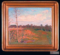 Ferdynand RUSZCZYC ● Pejzaż wiosenny w słońcu ● Aukcja ● Artinfo.pl