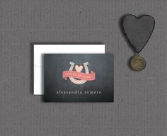 Lucky in Love Bridal Shower and Wedding Thank by OliveBerryPaper, $19.90