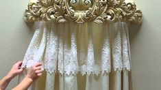 A wall teester is a regal addition to your bedroom, the perfect finishing touch. A decorative wall teester, or bed crown, allows you to display your curtain ...