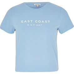 Blue East Coast t-shirt
