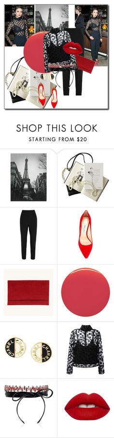 """""""Untitled #1709"""" by nybabe96 ❤ liked on Polyvore featuring Chanel, Dolce&Gabbana, Jimmy Choo, Burberry, House of Holland, Fallon and Lime Crime"""