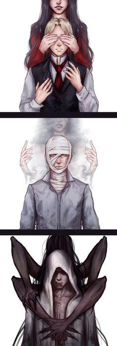 Laura Victoriano & Ruben Victoriano (The Evil Within Series) Video Game Art, Video Games, Creepy Games, Arte Horror, Film Serie, Resident Evil, Silent Hill, Dark Art, Amazing Art
