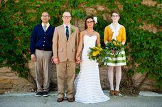 Geek chic library wedding shoot. Like.