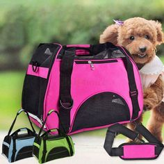 Nylon & Mesh Pet Carrier Soft Sided Cat puppy Comfort Travel Tote Ba…: Item details Condition: Brand New: Brand Name:… #Travelgoods #amp