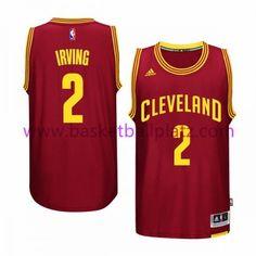 f273224f4737a Cleveland Cavaliers Trikot Herren 15-16 Kyrie Irving 2# Road Basketball  Trikot Swingman Kyrie
