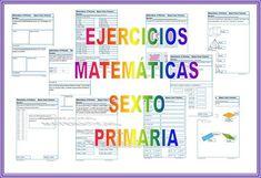 #matemáticas Ejercicios gratis de matemáticas para descargar y trabajar en casa o en clase. Para niños y niñas de 11-12 años