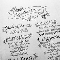 16 Hand Lettering Designers With Skills We Envy via Brit + Co