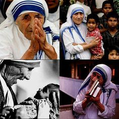 I am so flabbergasted, I am almost speechless. To write that about Blessed Mother Teresa of Calcutta takes a tremendous amount of conceit. Peta, Missionaries Of Charity, Relief Society Lessons, Mother Teresa Quotes, Photo A Day Challenge, Collage, Blessed Mother, Famous Women, Famous People