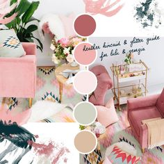 #moodboardmonday wouldn't feel right if I didn't include this GORGEOUS photography by @HeatherKincaidPhoto! All of these pinks tug on my heart. Can I move in, @luluandgeorgia? Stayed by @beijosevents