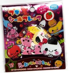 Kamio Japan Onigiri Friends Sticker Sack Kawaii