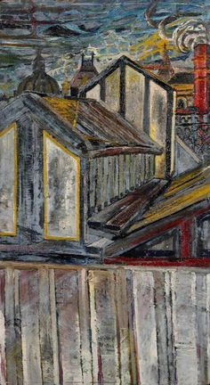 JOHN RANDALL BRATBY Roofscape (1954)